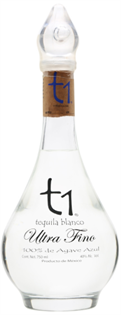 T1 Tequila Blanco Ultra Fino 750ml